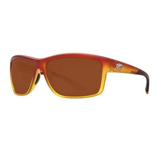 Costa Del Mar Mag Bay Polarized Matte Sunset Yellow Fade Sunglasses - AA-79-OCP