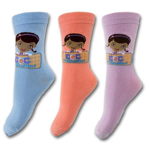 Doc McStuffins Socks - D2 - 3 Pack