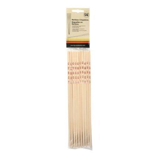 T&G 10 Pairs of Chopsticks Bamboo