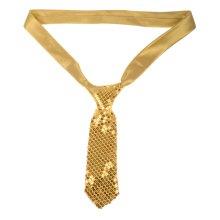 Tie Sequin Gold
