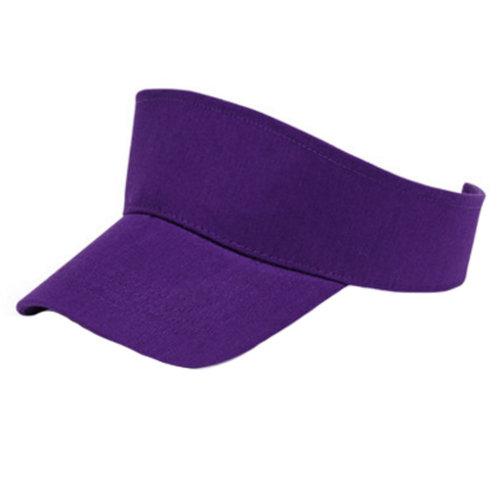 Outdoor Sports Visor Hat Sun Hat Sports Adjustable Cap for Kids, Purple