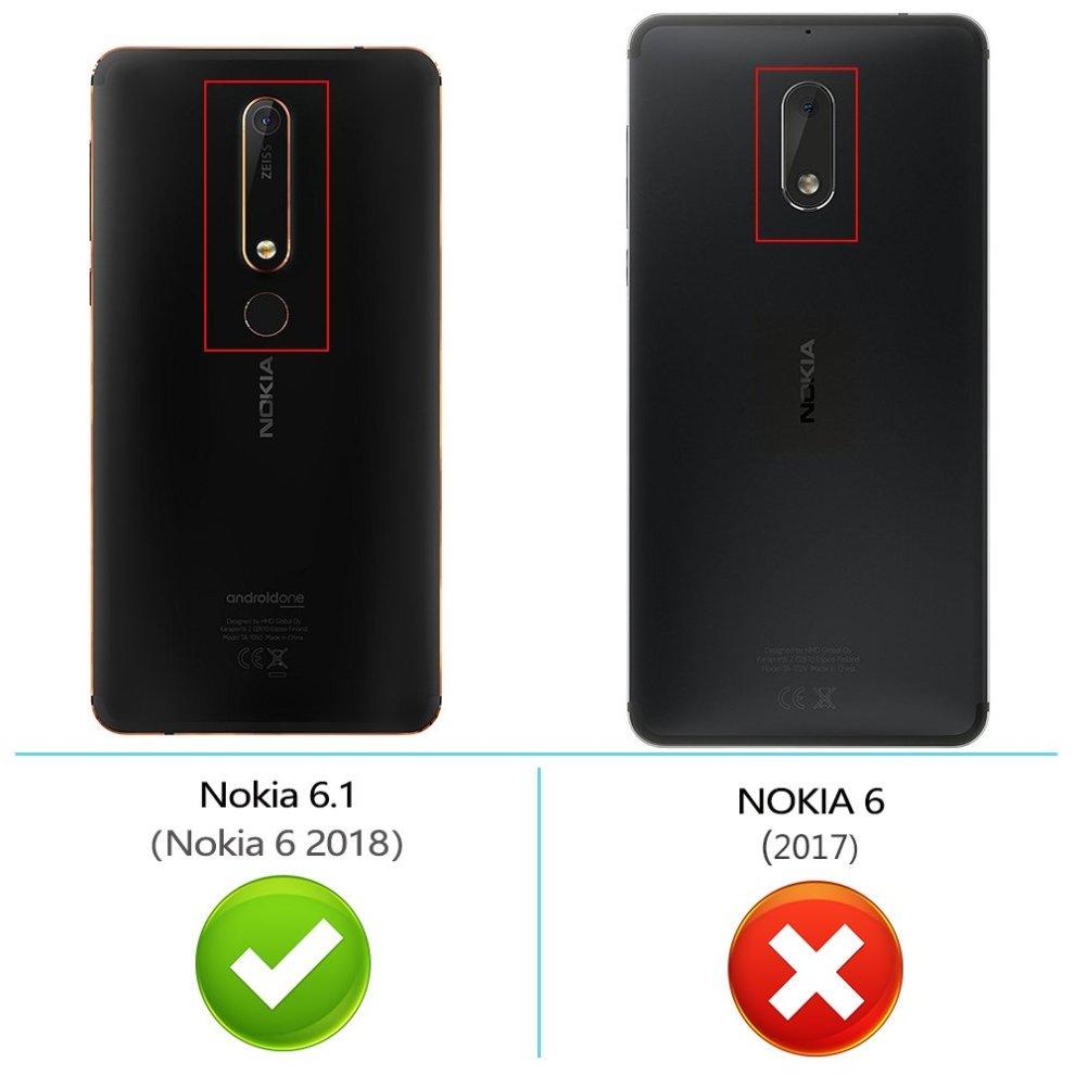 size 40 ac020 64b1c Peakally Nokia 6.1 / Nokia 6 2018 Case, Premium PU Leather Flip Wallet Case  Cover for Nokia 6.1 / Nokia 6 2018 [Card Slots] [Kickstand] [Magnetic...