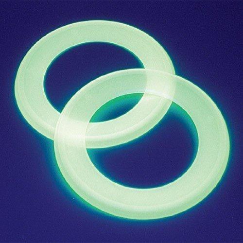 Dozen Glow In The Dark Ring Flying Disks