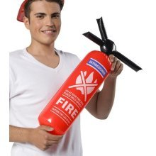 Inflatable Fire Extuinguisher - Party Extinguisher Fancy Dress Accessory -  inflatable party fire extinguisher fancy dress accessory