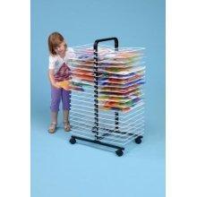 40 Shelf Large Mobile Art Drying Rack (A1265)