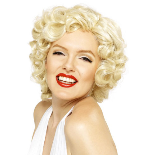Smiffys Female Marilyn Monroe Wig - Blonde -  wig marilyn monroe blonde fancy dress smiffys