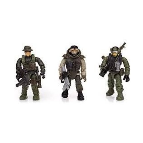 Call of Duty Armored Vehicle Charge Mega Bloks Collector Series Set DPB57