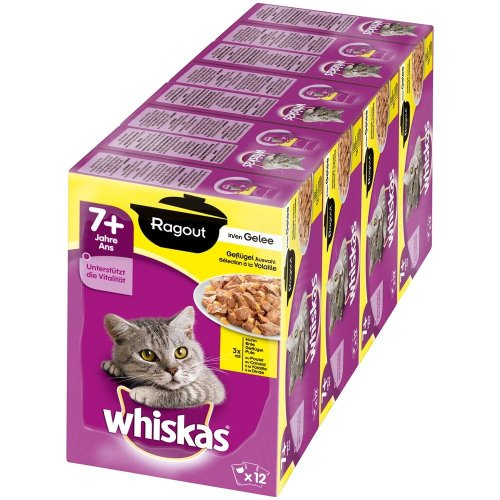 Whiskas wet food for older cats, 7+