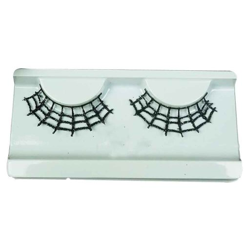 Set of 2 Long and Exaggerated False Eyelashes Extension for Cosplay [E]