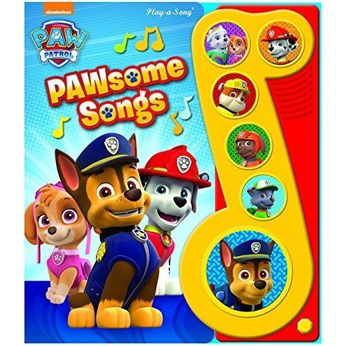 Paw Patrol Musical Book (Paw Patrol: Play-a-Song)