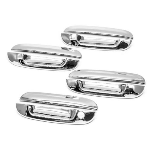 Atomsonic AMS1289C Chrome Door Handle Cover for 2002-2007 Cadillac CTS