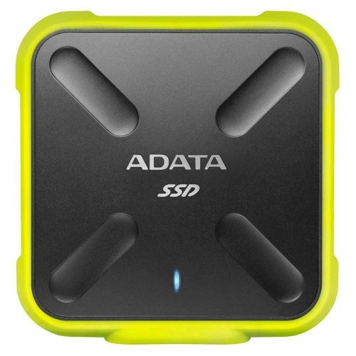 Adata 512Gb SD700 External USB3.1 SSD - Yellow