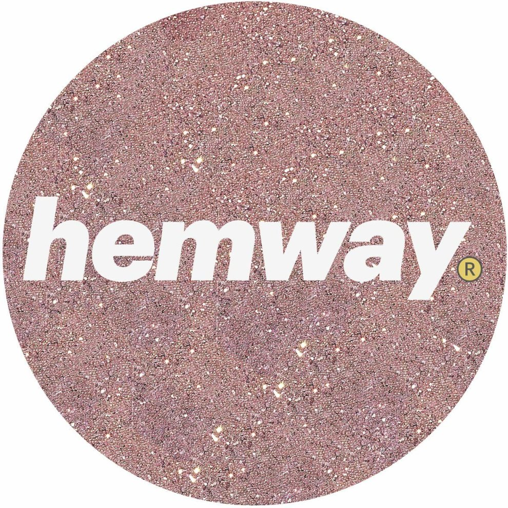 Hemway Rose Gold Glitter Paint Additive 100g 3 5oz For
