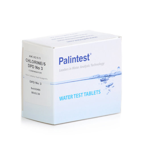 Palintest DPD No.3 Rapid Dissolve Tablets (250) Pool Test Tablets