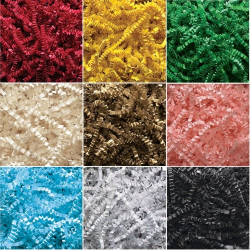 Luxury Shredded Paper Crinkle Cut Hamper Filling Zig Zag Tissue