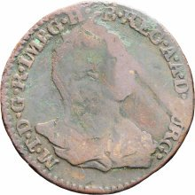 Austrian Netherlands 1777 2 Liards / 2 Oorden Maria Theresia Coin