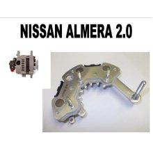 NISSAN ALMERA 2.0 1995 - 00 NEW ALTERNATOR RECTIFIER