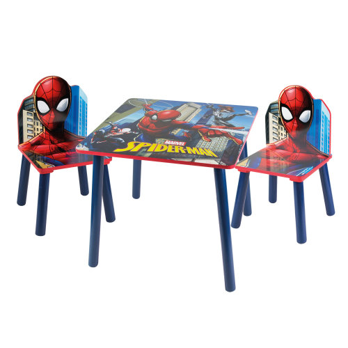 (Spider-Man) Children's Cartoon Character Table & Chair Set