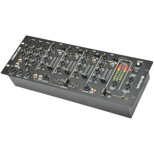 "4 Channel 19"" DJ Mixer"
