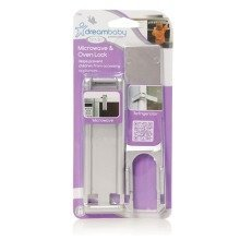 Dreambaby Microwave Oven Lock 2 Pack - Silver
