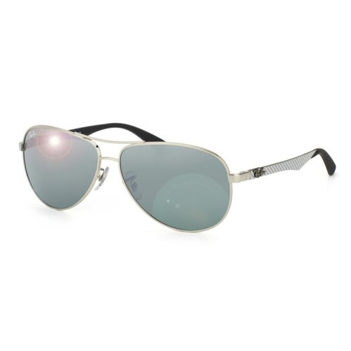 Ray-Ban Aviator Silver Mirror Sunglasses RB8313-003/40-58