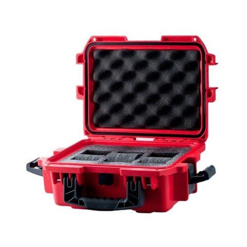 Invicta DC3RED Collectors Box 3 Slot - Red