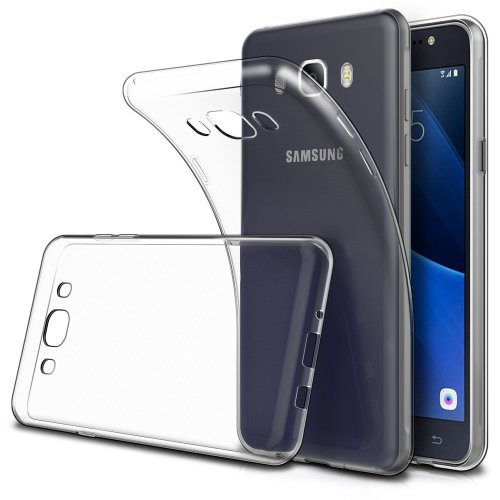 new arrival 27841 d765c Simpeak For Samsung Galaxy J5 2016 Case, [2 Pack] Soft TPU Transparent Slim  Fit Protector Case for Samsung Galaxy J5 2016 5.2