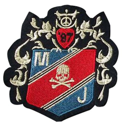 Set Of 2 Cloth Badge Affixed Patch Stickers Applique Patches Fashional