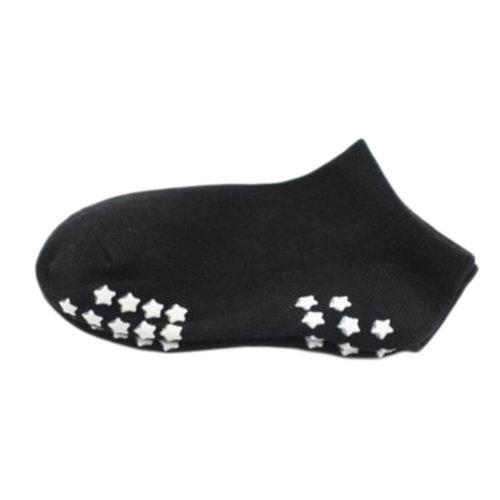 8 Pairs Non-slip Newborn Baby Toddler Socks Warm Stockings Baby Gift 13-15 CM For 2-4 Year Baby-Black