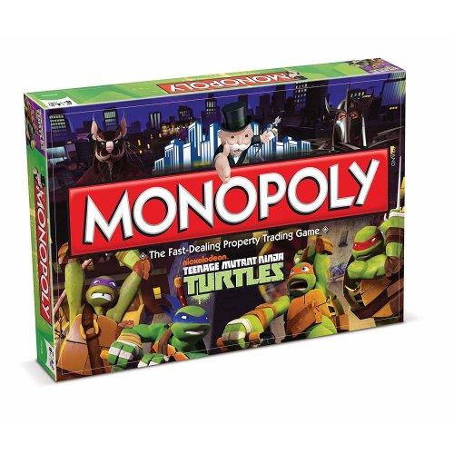 Teenage Mutant Ninja Turtles Monopoly Family Board Game