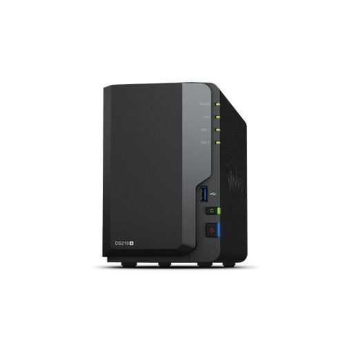 Synology DS218+ NAS Compact Ethernet LAN Black