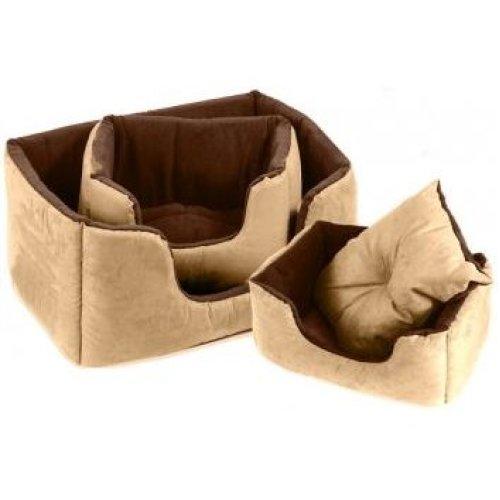 Chelsea Comfy Bed Tan Size 5 99x71cm