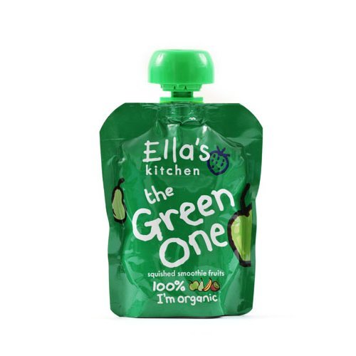 Ellas Kitchen  The Green One Fruit Smoothie 90g x 12