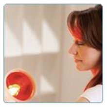 SANITAS MEDICAL INFRARED HEAT LAMP - PAINS,TENSION,COLDS,RELIEF 5 TILT