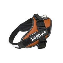 Julius-k9, 16idc-kor-0, Idc-powerharness, Size: 0, Copper Orange - Harness Dog -  harness dog k9 idc power julius strong harnesses new 04 mxl