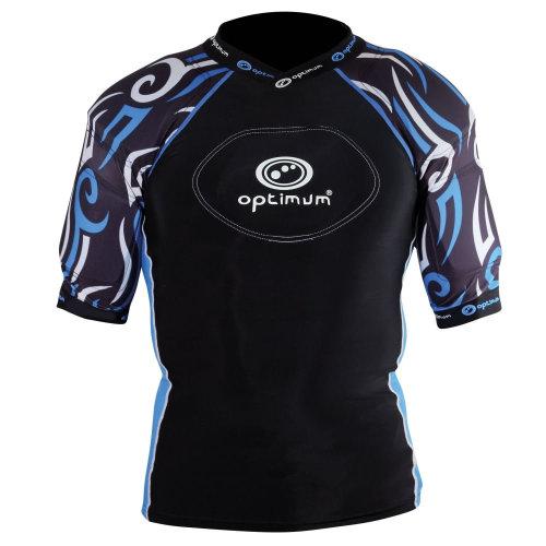 Optimum Razor Kids Rugby Body Protection Black/Blue