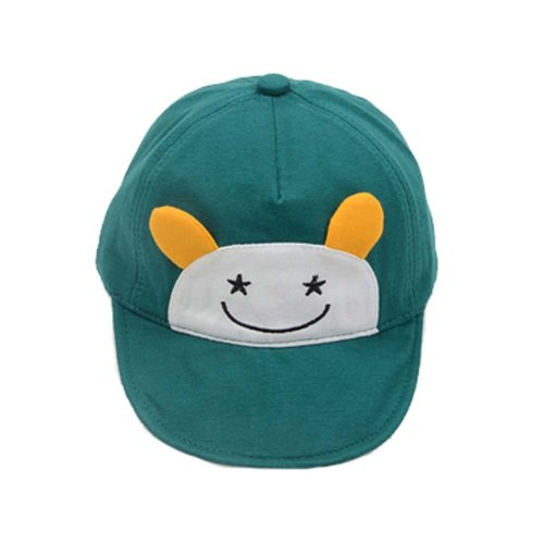 Baby Cuff Cotton Baseball Cap Visor Cap Baby Hat Sunscreen Breathable