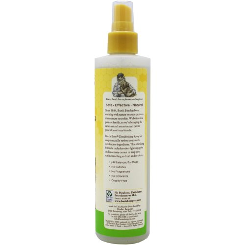 Burt's Bees Spray For Dogs 10oz-Deodorizing
