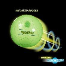 Nightball Football ~ Green ~ Light Up Football