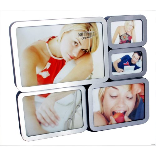Block Multi Frame 5 Pictures by Shudehill giftware