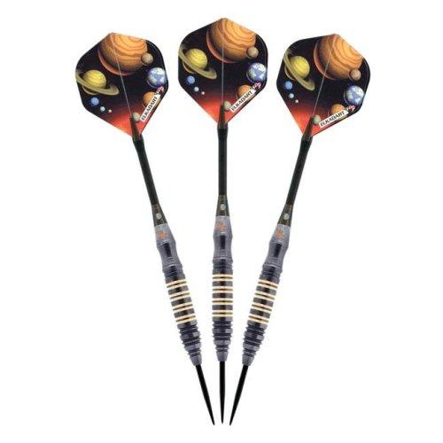 Elkadart 22-0721-21 Orbital Steel Tip Darts, Multi-Color - 21 g