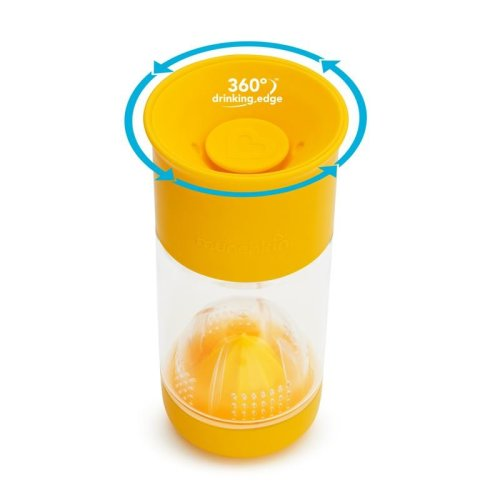 Munchkin Miracle 360 Fruit Infuser Cup Yellow 14oz