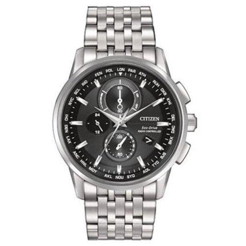 Citizen Eco-Drive World Chronograph A-T Mens Watch AT8110-53E