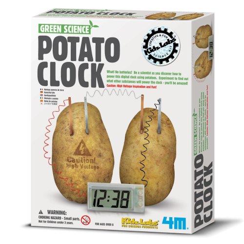 Potato Clock - Green Science Children's Creative Set