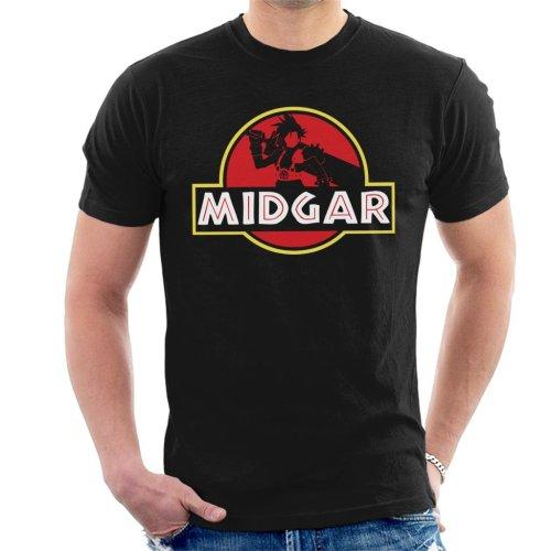 Final Fantasy Midgar Park Men's T-Shirt