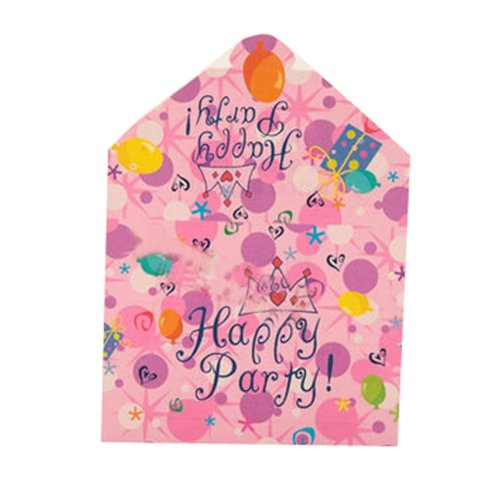 Set of 20 Unique Birthday Party Invitations Cards Party Supplies,4.2''