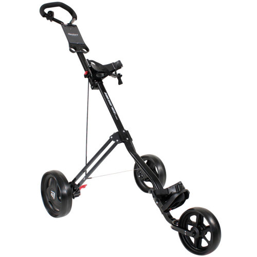 Golf Trolleys | Masters 3 Series 3 Wheel Push Golf Trolley Black