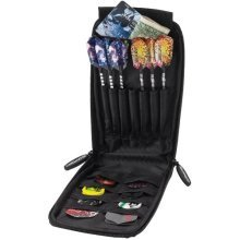Casemaster Mini Pro 6 Dart Leatherette Storage/Travel Case, Black