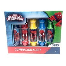 Ultimate Spider-Man Jumbo Chalk Set