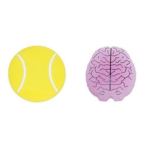 Gamma Sports String Things Vibration Dampeners 2 Pack Tennis Ball Brain